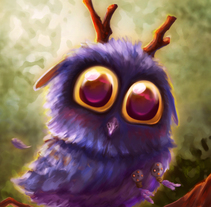MOONKIN HATCHLING. A Illustration, and Character Design project by Natalia         - 28.08.2016