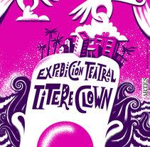 Cartel para gira de grupos teatrales. Un proyecto de Ilustración, Diseño gráfico, Serigrafía y Lettering de Abdel De La Campa Escaig - 01-04-2017