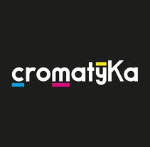 Diseño de logotipo - Cromatyka. Un proyecto de Br e ing e Identidad de Adrián Sánchez Mojica - 03-06-2017