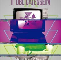 CARTEL IX EDICIÓN FESTIVAL PUBLICATESSEN. Un proyecto de Publicidad, Diseño editorial y Diseño gráfico de Sergio Delgado Franco         - 06.06.2017