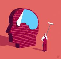 Alzheimer, nuevas curas . A Design, Illustration, Art Direction, and Editorial Design project by Davide Abbati          - 08.03.2016