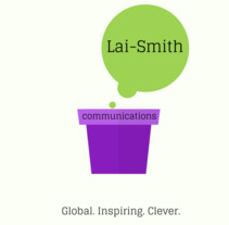 Lai-Smith Communications. A Br, ing, Identit, Social Media&Infographics project by Daiana Sol         - 08.06.2017