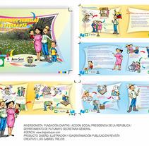 Revista: Semillas de Esperanza - Gabriel Trejos Duque. Un proyecto de Diseño, Ilustración, Diseño editorial, Educación, Diseño gráfico y Comic de Gabriel Trejos Duque - 13-06-2017