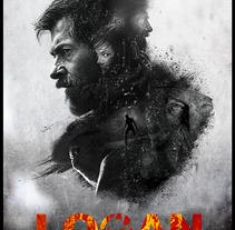 Logan / fan art. Un proyecto de Ilustración y Diseño gráfico de Renzo Romero         - 15.06.2017