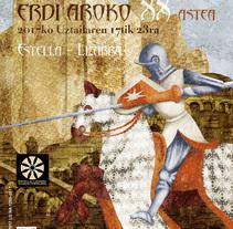 Semana Medieval. A Illustration project by Concepción Domingo Ragel - 21-06-2017