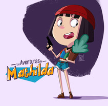 Las Aventuras de Mathilda . A Animation project by Gabriel  Jiménez Soto - 26-06-2017