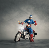 Captain America. A Photograph project by David Fuentes - 28-06-2017