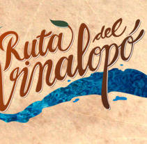 Ruta del Vinalopó. A Graphic Design, and Calligraph project by Punts Suspensius          - 29.06.2017