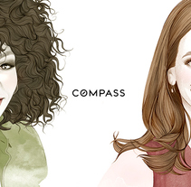 Retratos para COMPASS New York . A Illustration project by Mercedes deBellard         - 06.07.2016