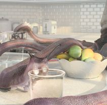 Terminix 2011 - Kitchen. A Advertising, 3D, Animation, Post-Production, and Character animation project by Hugo García         - 10.11.2011