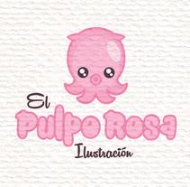 Diseño de Logotipo. Un proyecto de Diseño, Ilustración, Br, ing e Identidad y Diseño gráfico de El Pulpo Rosa         - 11.07.2017