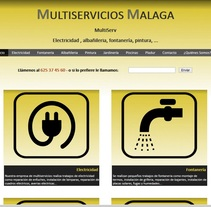 Web de Multiservicio. A Design project by Antonio Gonzalez         - 07.07.2017