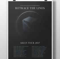 Retrace The Lines Asian Tour 2017. A Graphic Design project by Alejandro Magnieto Benlliure - 14-07-2017