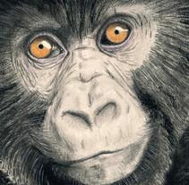 Gorila. A Illustration project by Javier Lázaro Tapia         - 19.07.2017