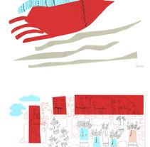 Bolonia 2016, Mis ilustraciones Seleccionadas. Um projeto de Ilustração e Colagem de Adriana Juárez Puglisi         - 20.07.2017