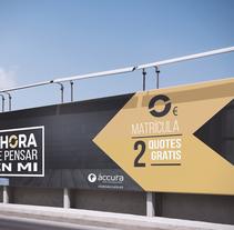 Campaña publicitaria. Um projeto de Publicidade, Design gráfico e Marketing de María Camacho         - 21.12.2016
