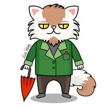 El Señor Gato - GIF. Um projeto de Ilustração, Animação, Design de personagens, Animación de personajes e Ilustración vectorial de El Pulpo Rosa         - 22.07.2017