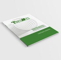 Tecniman. A Photograph, Br, ing, Identit, Creative Consulting, Editorial Design, Graphic Design, Web Development&Icon design project by Manuela Ruiz         - 24.07.2017