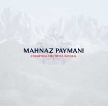 Mahnaz Paymani Cosméticos. Un proyecto de Dirección de arte y Diseño gráfico de Pablo  Alcaraz - 25-07-2017