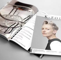 Diseño editorial: Revista K-Folk.. Um projeto de Design, Publicidade, Design editorial e Moda de Selena López Gómez         - 11.08.2017