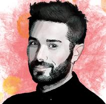 Mi Proyecto del curso: Retrato ilustrado con Photoshop. A Illustration project by María Jesús Plaza San José         - 27.08.2017
