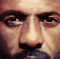 Idris Elba, Soho House Magazine. A Illustration project by David de las Heras  - 28-08-2017