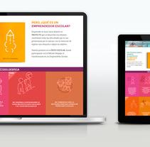 Despegamos - Centro de acompañamiento escolar. A Web Development project by ElCorriol          - 01.06.2017