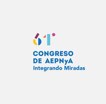 Congreso AEPNyA. A Design, Br, ing, Identit, Events, Graphic Design, Web Design, and Web Development project by Joan Rojeski          - 01.09.2017
