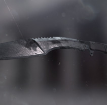 Blade - ATUODESK 3DS MAX + SUBSTANCE PAINTER + MARMOSET. Un proyecto de 3D de Blanca Márquez Gil-Bohórquez         - 21.01.2017