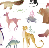 Animales. A Illustration project by Mercedes deBellard         - 03.09.2017