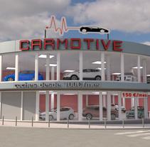 Edificio Carmotive. Un proyecto de 3D y Arquitectura de Miguel Angel Calvo - 11-06-2016