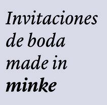 Invitaciones de boda superlativas. Um projeto de Design de Minke         - 18.09.2017