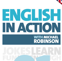 English in Action with Michael Robinson. A Design, Editorial Design, and Graphic Design project by Estefanía Castelao Morales - 15-02-2017