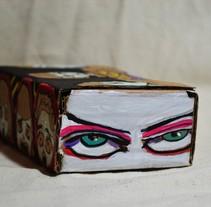 """Las cajas de Resnick (proyecto para """"pure de pelos """". Un proyecto de Ilustración de Sonja Llamas         - 24.09.2017"""