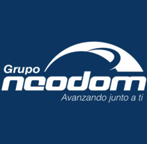 Grupo Neodom, logotipo para empresa de importación y multiservicios.. Um projeto de Br e ing e Identidade de Claudio Osorio         - 25.09.2017