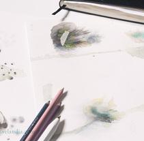 Cuaderno de bitácora - sketchbook. A Illustration project by Ana Martín Velandia - 26-09-2017
