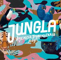 J U N G L A | Agencia de publicidad. Un proyecto de Diseño, Ilustración y Diseño gráfico de German Gonzalez Ramirez - 25-08-2015