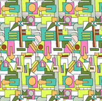 Estampado geométrico. A Illustration project by Gabriela Gonzalez Burgos         - 29.09.2017