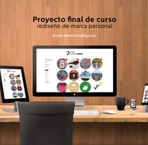 Mi Proyecto del curso: Freelance: claves y herramientas para triunfar siendo tu propio jefe. A Design project by Einar Ángel Ramos Beas Pérez de Tudela - 30-09-2017