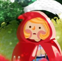 Caperucita. A Illustration project by okosketch         - 03.10.2017