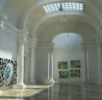 Museo del Carmen, Valencia.. Un proyecto de 3D, Arquitectura, Arquitectura de la información, Post-producción y VFX de Miguel Angel Calvo - 10-05-2016