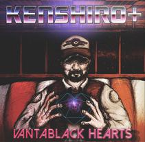 Kenshiro+ Vantablack Hearts. Un proyecto de Ilustración de Julián López Gamella         - 30.07.2017
