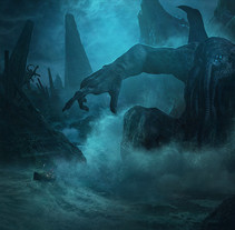 Lovecraft. A Illustration project by Guillem H. Pongiluppi - 01-12-2016