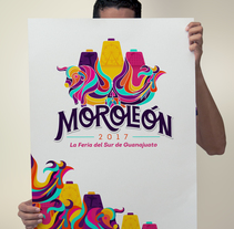 Moroleón Feria 2017. A Illustration, Br, ing, Identit, and Lettering project by KIDE Cristian D.         - 13.10.2017