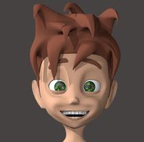 Mi Proyecto del curso: Rigging: articulación facial de un personaje 3D. A 3D, Animation, Character Design, Game Design, Film, Rigging, and Character animation project by Francisco Javier Rodríguez Martínez         - 13.10.2017