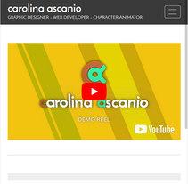 Mi Proyecto del curso: Creación de una web profesional con WordPress. Um projeto de Web design e Desenvolvimento Web de Carolina Ascanio         - 07.11.2017
