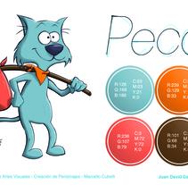 Peco - Model Sheet. A Character Design project by Juan David Gallego Arango - 21-12-2012