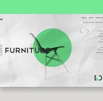 Dserverd Web Site. Un proyecto de Diseño gráfico, Diseño interactivo y Diseño Web de Manuel Berlanga         - 20.10.2017
