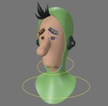Mi Proyecto del curso: Rigging: articulación facial de un personaje 3D. Um projeto de 3D e Animação de daniel_galvez_vidal         - 21.10.2017