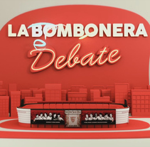 La Bombonera 2018. A Motion Graphics, 3D, and Animation project by Rafa Rguez Cuevas         - 21.10.2017